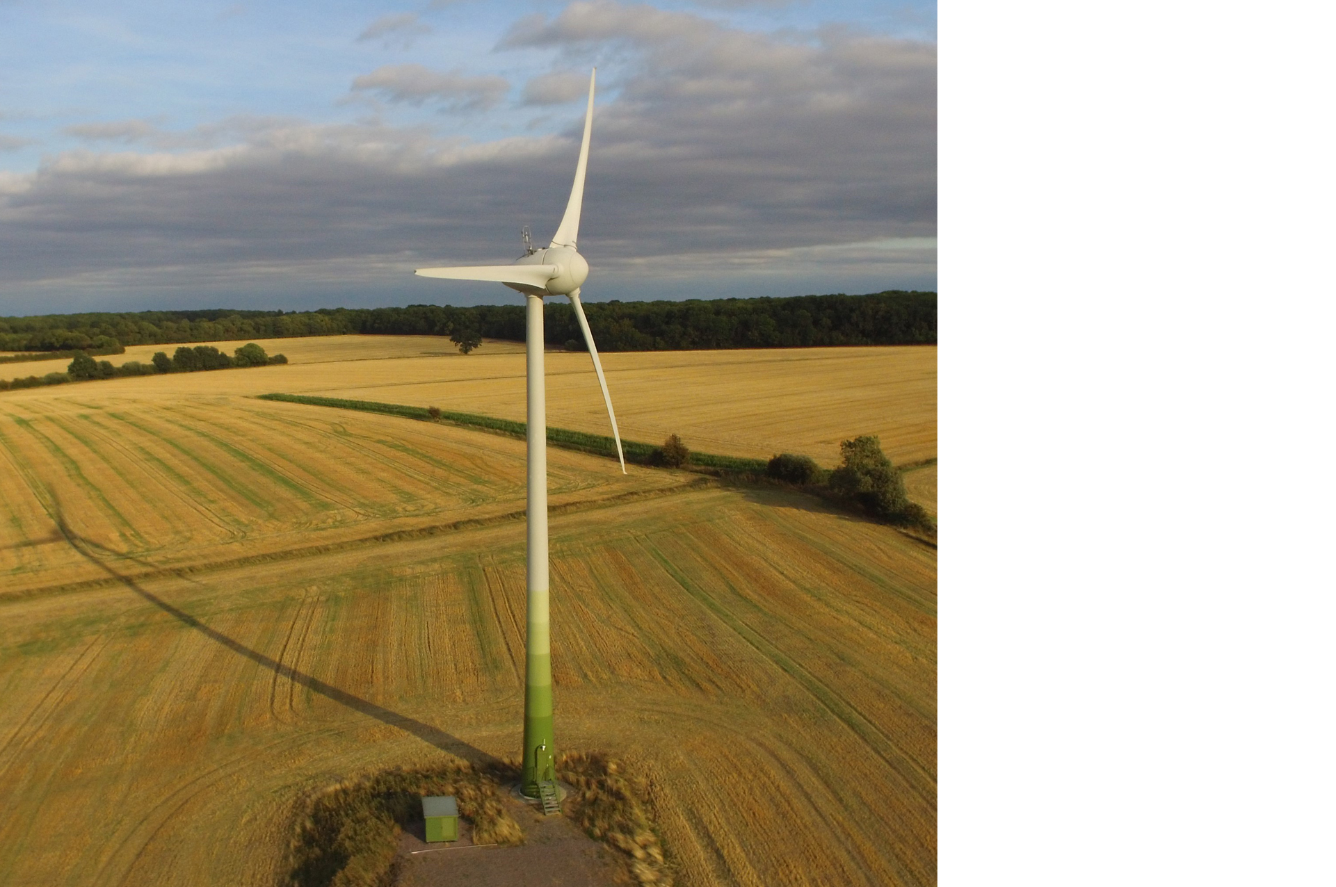 Gamlingay community wind turbine. Photograph © Greater Cambridge Shared Planning Service